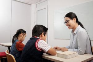 Niños de 4 5 6 grado de Primaria reciben Beca
