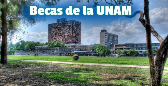 ¡Becas de la UNAM para licenciaturas!