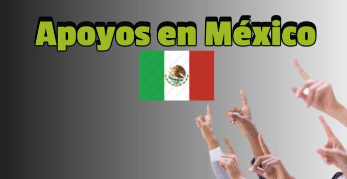 Programas de apoyo del gobierno de México