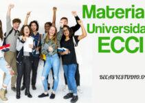 ¿Cómo inscribir materias en la universidad ECCI?