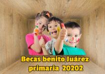 Beca Benito Juárez Primaria 2020