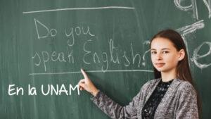 inglés en línea en la UNAM