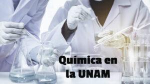 Aprende química en línea con la UNAM