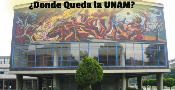 ¿Dónde queda la Universidad Autónoma de México?