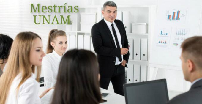 Universidad Autónoma de México maestrías