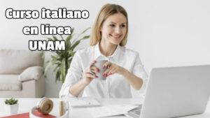 Curso de italiano en línea UNAM