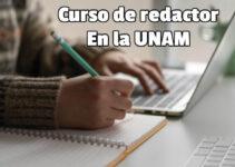 Curso en línea redacción UNAM