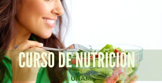 Cursos de nutrición en línea UNAM