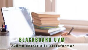 Cómo entrar a Blackboard UVM