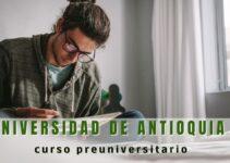 Curso preuniversitario Universidad de Antioquia