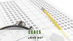Qué significa ECAES