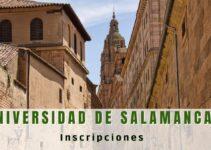 ¿Cómo inscribirse en la Universidad de Salamanca?