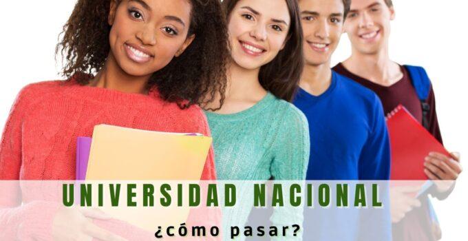 Pasar a la Universidad Nacional de Colombia