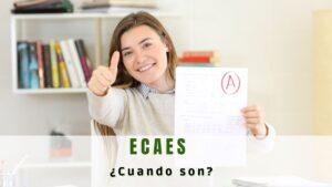 ¿Cuándo es el ECAES 2021?