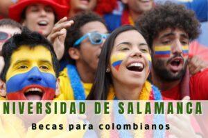 Becas para colombianos en la Universidad de Salamanca