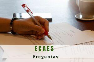¿Cómo hacer preguntas tipo ECAES?