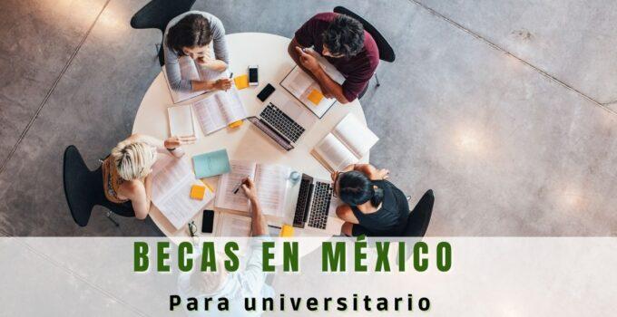 Becas que ofrece el gobierno de México para universitarios
